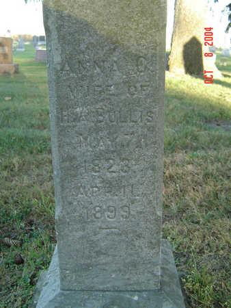 BULLIS, ANNA C. - Delaware County, Iowa | ANNA C. BULLIS
