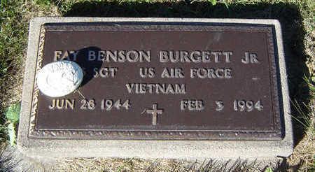 BURGETT, FAY BENSON JR. - Delaware County, Iowa | FAY BENSON JR. BURGETT