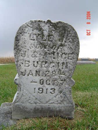 BURGIN, LYLE J. - Delaware County, Iowa | LYLE J. BURGIN