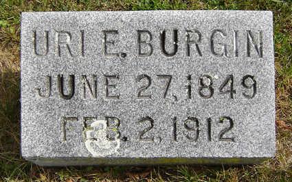 BURGIN, URI E. - Delaware County, Iowa | URI E. BURGIN
