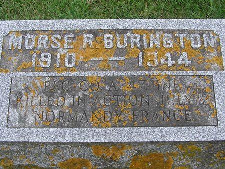 BURINGTON, MORSE R. - Delaware County, Iowa | MORSE R. BURINGTON