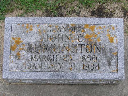 BURRINGTON, JOHN C. - Delaware County, Iowa | JOHN C. BURRINGTON