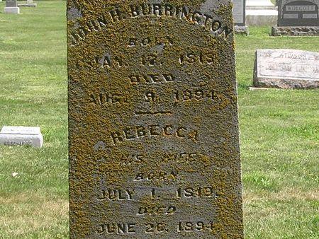 BURRINGTON, JOHN H. - Delaware County, Iowa | JOHN H. BURRINGTON