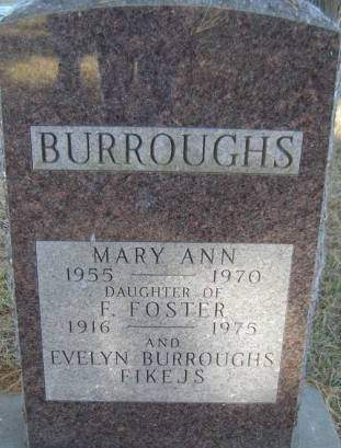 BURROUGHS, F. FOSTER - Delaware County, Iowa | F. FOSTER BURROUGHS