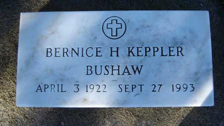 BUSHAW, BERNICE H. - Delaware County, Iowa | BERNICE H. BUSHAW