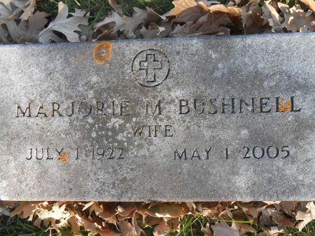 BUSHNELL, MARJORIE M. - Delaware County, Iowa | MARJORIE M. BUSHNELL