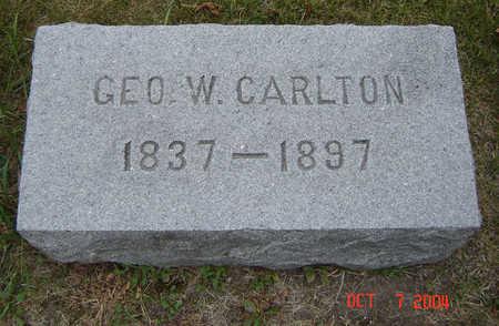 CARLTON, GEO W. - Delaware County, Iowa   GEO W. CARLTON