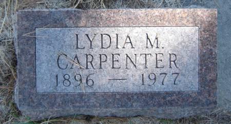 CARPENTER, LYDIA M. - Delaware County, Iowa | LYDIA M. CARPENTER