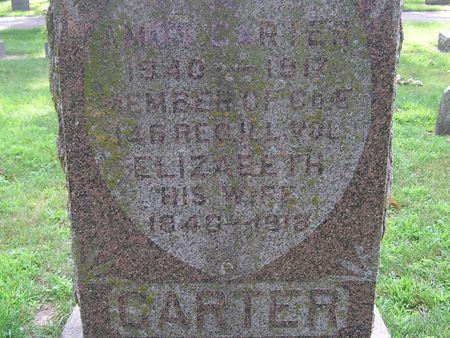 CARTER, ELIZABETH - Delaware County, Iowa | ELIZABETH CARTER