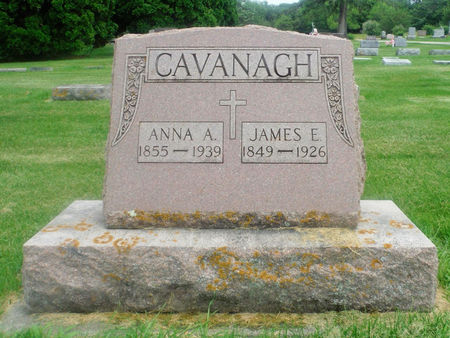 CAVANAUGH, JAMES E. - Delaware County, Iowa   JAMES E. CAVANAUGH
