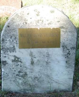 CHAMBERS, WILLIAM HENRY - Delaware County, Iowa | WILLIAM HENRY CHAMBERS