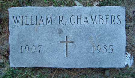 CHAMBERS, WILLIAM R. - Delaware County, Iowa | WILLIAM R. CHAMBERS
