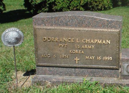 CHAPMAN, DORRANCE