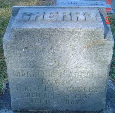 CHERRY, MARJORIE ISABELLE - Delaware County, Iowa | MARJORIE ISABELLE CHERRY