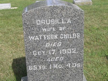 CHILDS, DRUSILLA - Delaware County, Iowa | DRUSILLA CHILDS