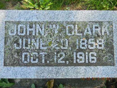 CLARK, JOHN W. - Delaware County, Iowa   JOHN W. CLARK