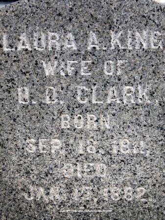 KING CLARK, LAURA A. - Delaware County, Iowa | LAURA A. KING CLARK