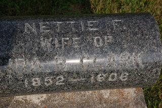 CLARK, NETTIE F. - Delaware County, Iowa | NETTIE F. CLARK