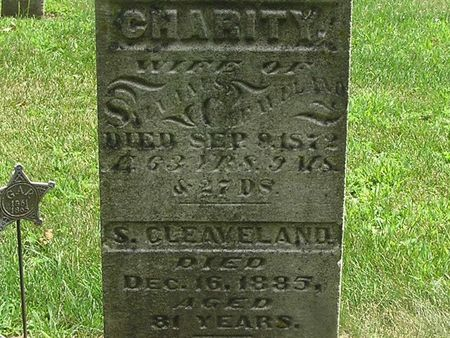 CLEAVELAND, CHARITY - Delaware County, Iowa | CHARITY CLEAVELAND