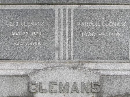 CLEMANS, E.O. - Delaware County, Iowa | E.O. CLEMANS