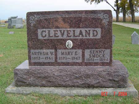 CLEVELAND, ARTHUR W. - Delaware County, Iowa | ARTHUR W. CLEVELAND