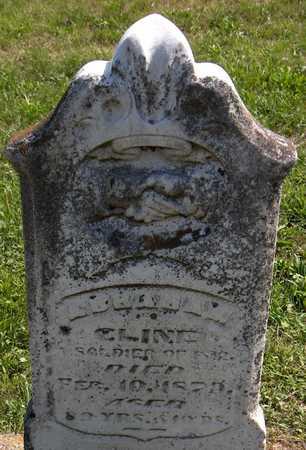 CLINE, ABRAHAM - Delaware County, Iowa | ABRAHAM CLINE
