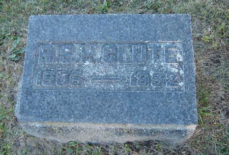 CLUTE, R. S. H. - Delaware County, Iowa   R. S. H. CLUTE