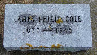 COLE, JAMES PHILIP - Delaware County, Iowa | JAMES PHILIP COLE