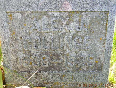 COLLINGE, ALEXANDER J. - Delaware County, Iowa | ALEXANDER J. COLLINGE