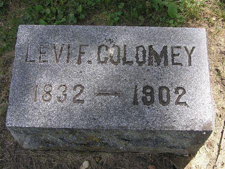 COLOMEY, LEVI F. - Delaware County, Iowa | LEVI F. COLOMEY