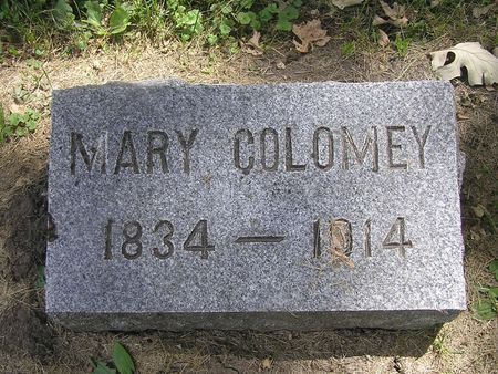 COLOMEY, MARY - Delaware County, Iowa | MARY COLOMEY
