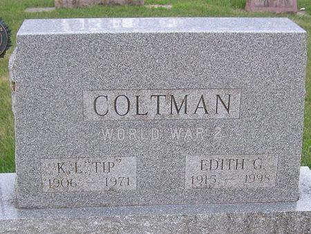 COLTMAN, K.L. 'TIP' - Delaware County, Iowa   K.L. 'TIP' COLTMAN