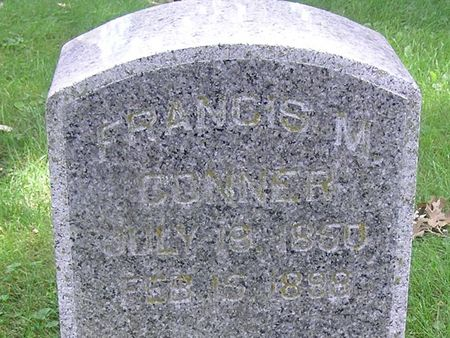 CONNER, FRANCIS M. - Delaware County, Iowa | FRANCIS M. CONNER