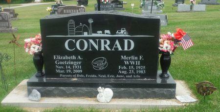 CONRAD, ELIZABETH A. - Delaware County, Iowa | ELIZABETH A. CONRAD