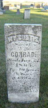 CONRAD, WILLIAM CURTIS - Delaware County, Iowa | WILLIAM CURTIS CONRAD