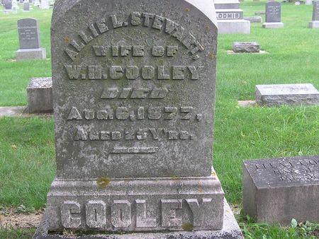 STEWART COOLEY, ALLIE L. - Delaware County, Iowa | ALLIE L. STEWART COOLEY