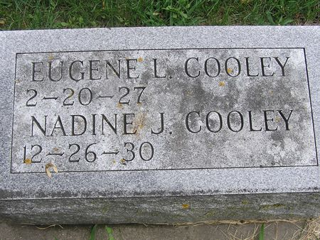 COOLEY, EUGENE L - Delaware County, Iowa | EUGENE L COOLEY