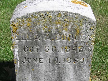 COOLEY, ELLA A. - Delaware County, Iowa | ELLA A. COOLEY