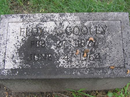 COOLEY, FLOY A. - Delaware County, Iowa | FLOY A. COOLEY