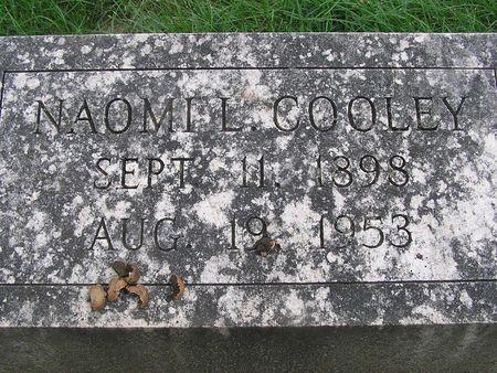 COOLEY, NAOMI L. - Delaware County, Iowa | NAOMI L. COOLEY
