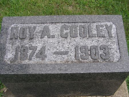 COOLEY, ROY A. - Delaware County, Iowa | ROY A. COOLEY