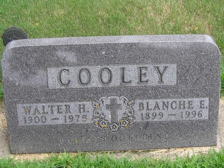 COOLEY, WALTER - Delaware County, Iowa | WALTER COOLEY
