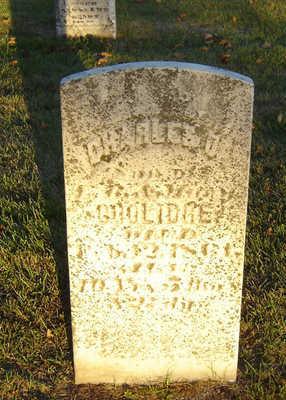COOLIDGE, CHARLES D. - Delaware County, Iowa | CHARLES D. COOLIDGE