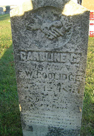 COOLIDGE, CAROLINE C. - Delaware County, Iowa | CAROLINE C. COOLIDGE