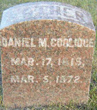 COOLIDGE, DANIEL M. - Delaware County, Iowa | DANIEL M. COOLIDGE