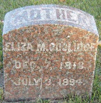 COOLIDGE, ELIZA M. - Delaware County, Iowa   ELIZA M. COOLIDGE