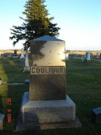 COOLIDGE, FAMILY MONUMENT - Delaware County, Iowa | FAMILY MONUMENT COOLIDGE