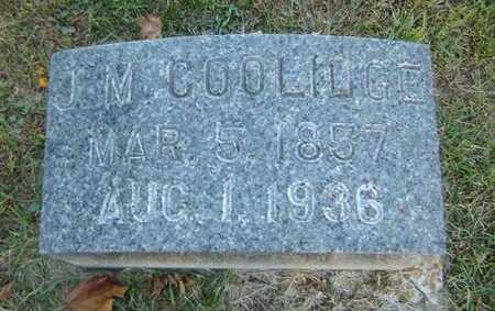 COOLIDGE, JONATHAN M. - Delaware County, Iowa | JONATHAN M. COOLIDGE