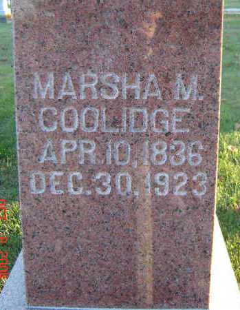COOLIDGE, MARSHA M. - Delaware County, Iowa | MARSHA M. COOLIDGE