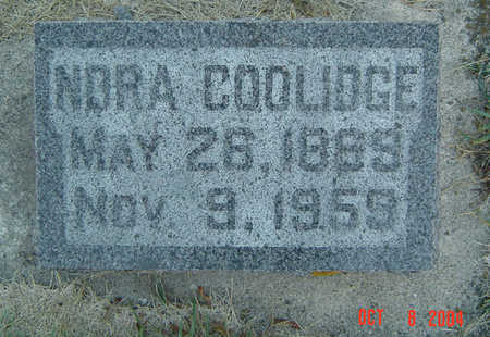 GRIESS COOLIDGE, NORA - Delaware County, Iowa | NORA GRIESS COOLIDGE